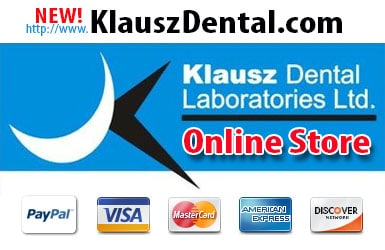 Klausz Dental Laboratories Ltd.- Online Store