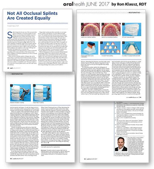 Oral Health Article June 2017
