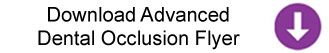 Advanced Dental Occlusion Flyer